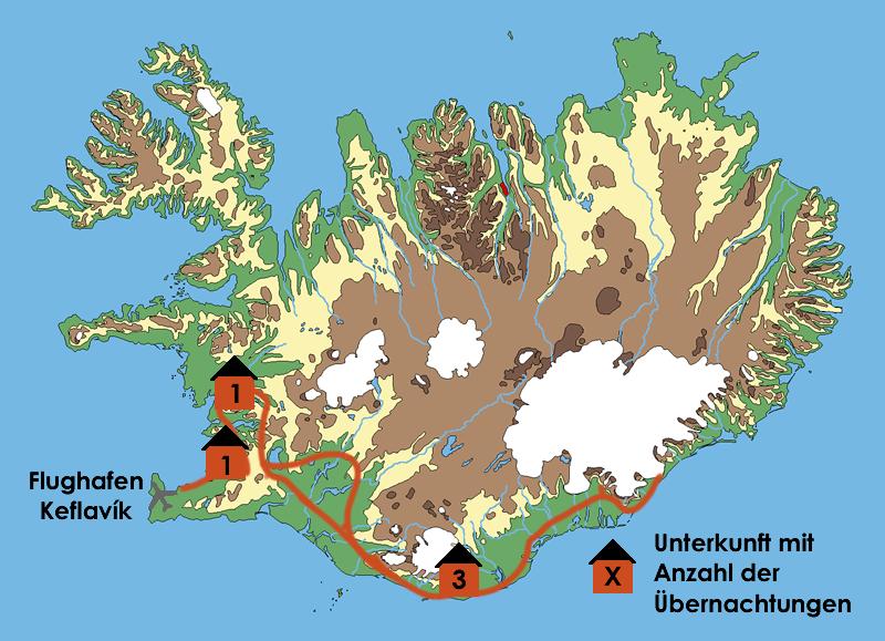 Island zum Kennenlernen - Sommer