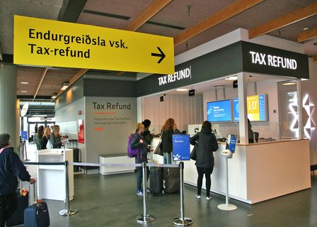 Tax-Refund Schalter - Keflavik